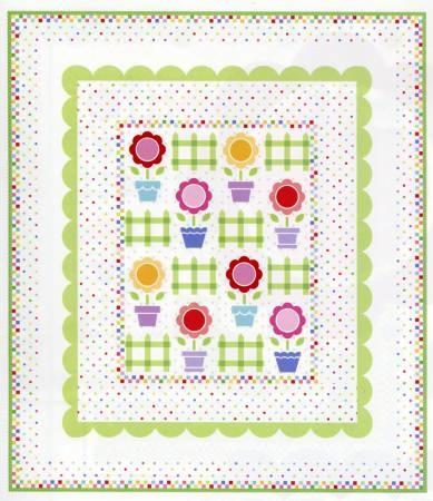 Flower Pot Garden Quilt Kit  by Lakehouse Dry Goods,