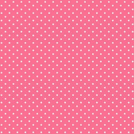 Fog City Kitty by Lakehouse Drygoods - LH14029 Coral - Coral Spot
