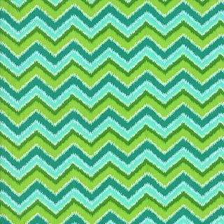 Folklore by Lily Ashbury for Moda Fabrics - Chevron Peacock 11484-15