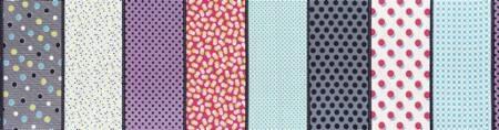 Gardenvale by Jen Kingwell Designs for Moda Fabrics - Dots Lucy Multi - 18100-12