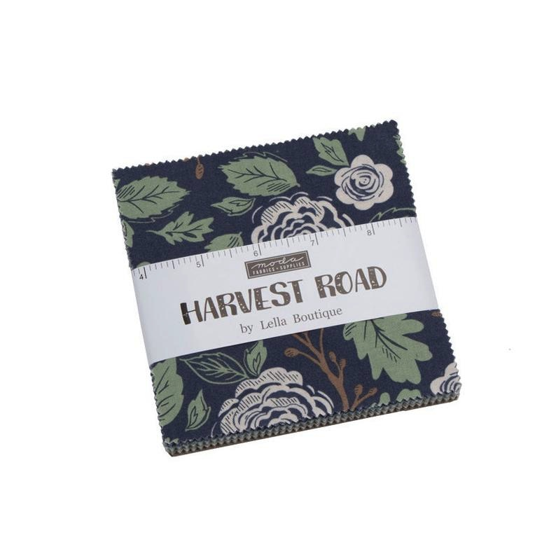Harvest Road by Lella Boutique for Moda Precuts - 5100PP - Charm Pack - 42 x 5in Squares