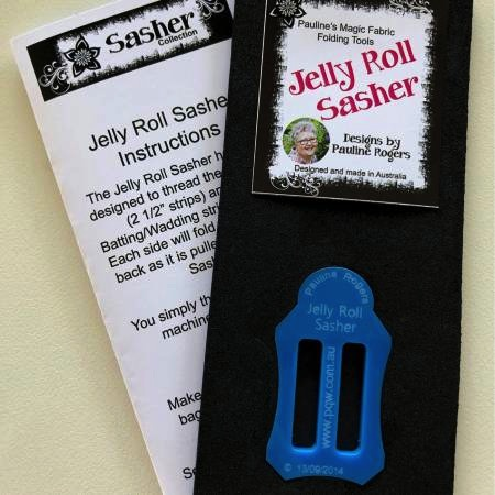 Jelly Roll Sasher Designed by Pauline Rogers