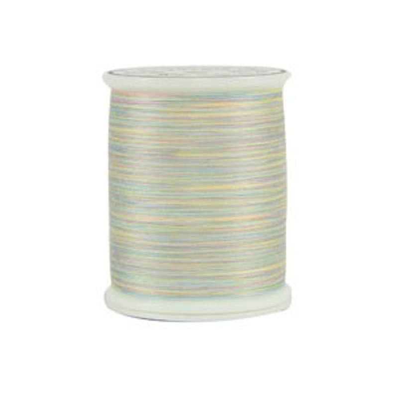 King Tut Quilting Thread - KTT01-916 - Mummy's Dearest - White Variegated - 40 weight 3 ply Egyptian Cotton