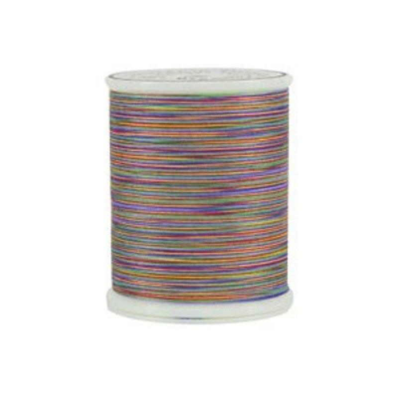 King Tut Quilting Thread - KTT01-918 - Joseph's Coat - 40 weight 3 ply Egyptian Cotton