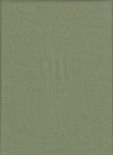 Lanna Woven by Indie Fabric Studio for A Day in the Country - Tiny Lines in Jade - Green/Red
