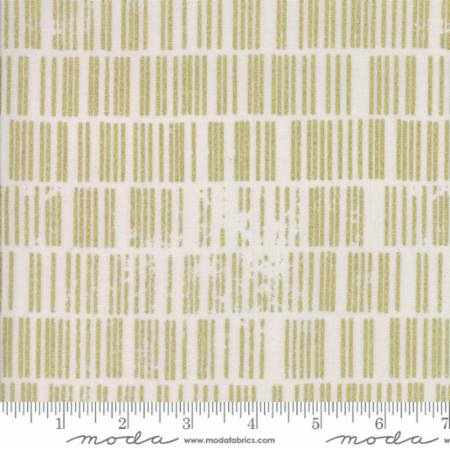 Modern BG Luster Metallic by Zen Chic for Moda Fabrics - 1613-14M - Scales in Grey Fog with Gold Metallic