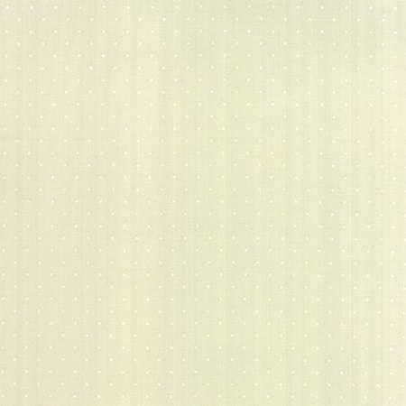 Modern BG Paper by Zen Chic for Moda Fabrics - Pindot in White Eggshell 1588-18