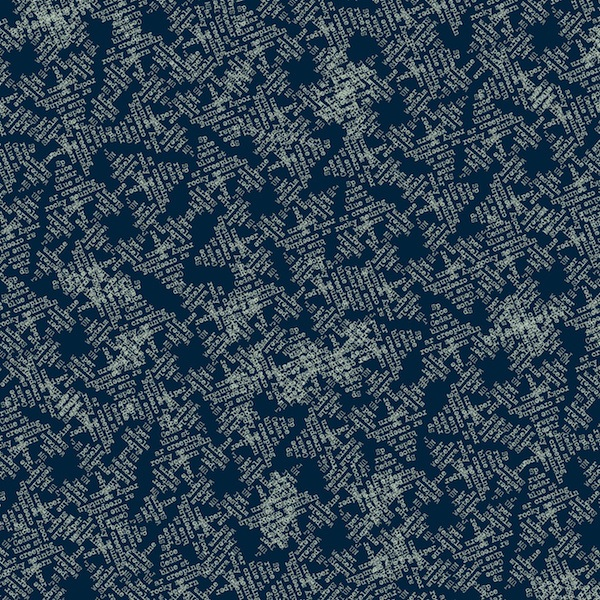 Night Hike by Heather Givens for Windham Fabrics - 50319-12 - Evergreens in Lake/Blue