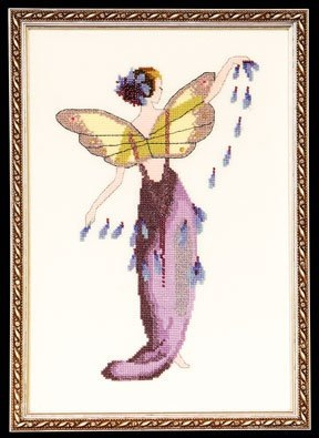 Nora Corbett Designs Lavender Spring Garden Pixie NC136 Spring Garden Party Series