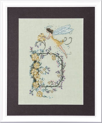 Nora Corbett Designs Letter D Letters from Nora Series