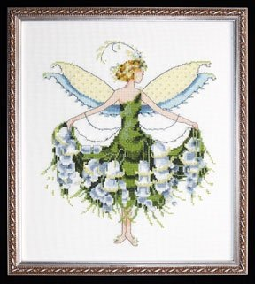 Nora Corbett Designs Lily of the Valley NC129, Spring Garden Party Series