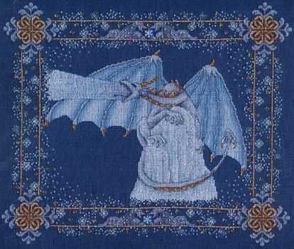 Patricia Allison Designs Seasonal Designs Winter Dragon