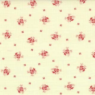 Printemps by 3 Sisters for Moda 4403621 Small Floral Lily Red