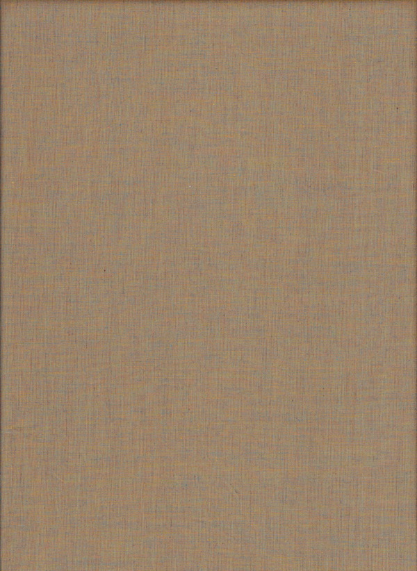 Shot Cotton Woven Fabric by A Day In The Country - Brown/Blue - Safari