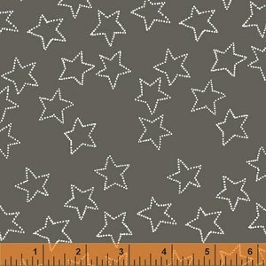 Stella by Lotta Jansdotter for Windham Fabrics - Stella Corduroy in Pewter - 40695-3