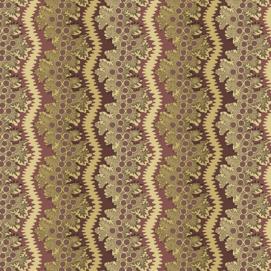 Windermere by Di Ford-Hall for Andover Fabrics - A-8921-LP - Lace in Plum