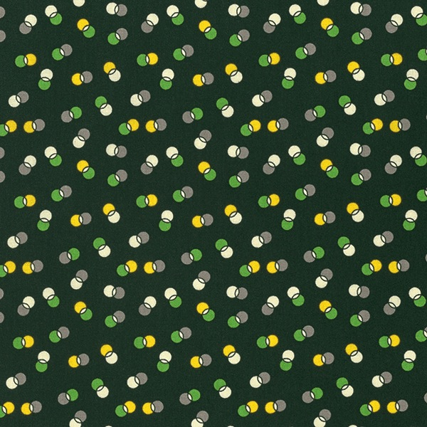 Winter Walk by Denyse Schmidt for Free Spirit Fabrics - PWDS132 - Dot Duet in Evergreen