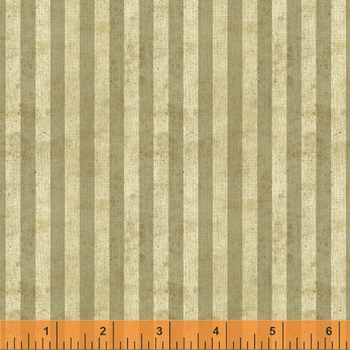 World Maps by Sue Schlabach for Windham Fabrics - Beige Stripe 40029-2