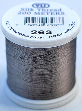YLI Silk Thread #100 Col 263 Caribou