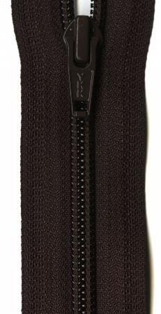 Ziplon 1-Way Separating Zipper 22in Sable Brown from YKK