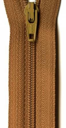 Ziplon Coil Zipper 12in Bronze from YKK