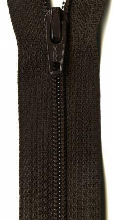 Ziplon Coil Zipper 22in Sable from YKK
