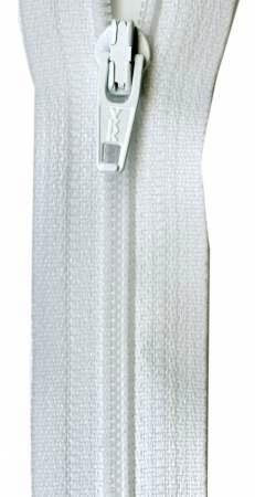 Ziplon Coil Zipper 22in White