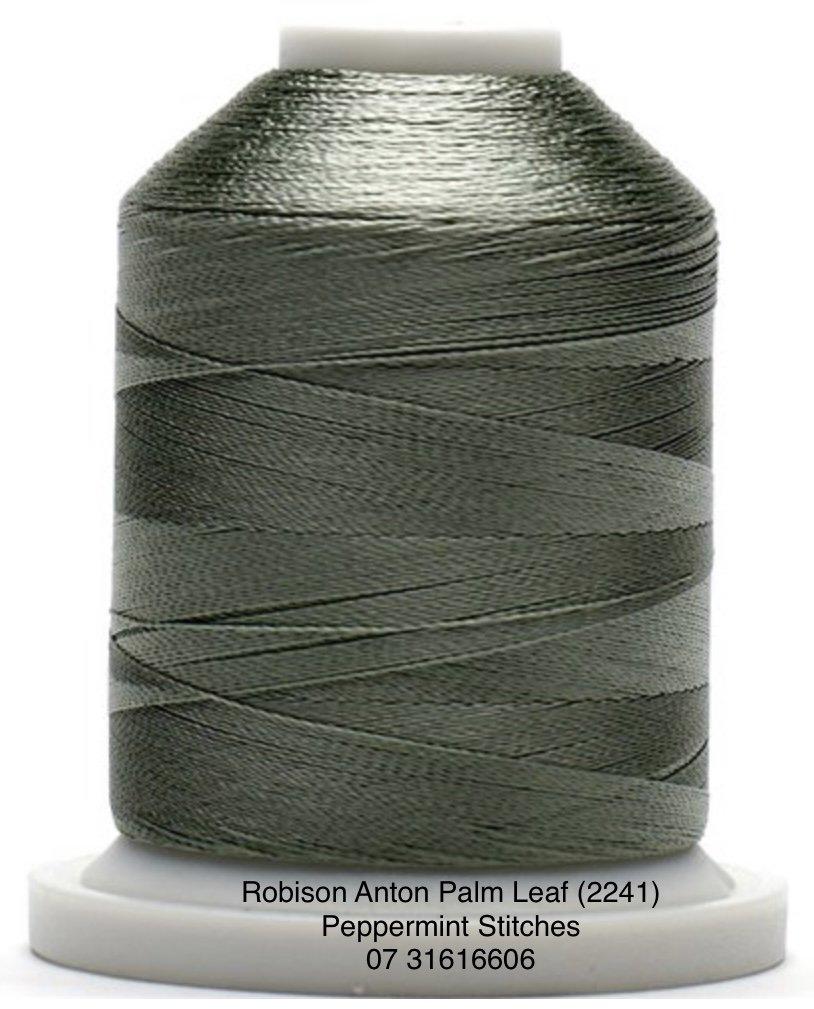 Robison Anton Palm Leaf (2241) Rayon Machine Embroidery Thread 40wt 1000m