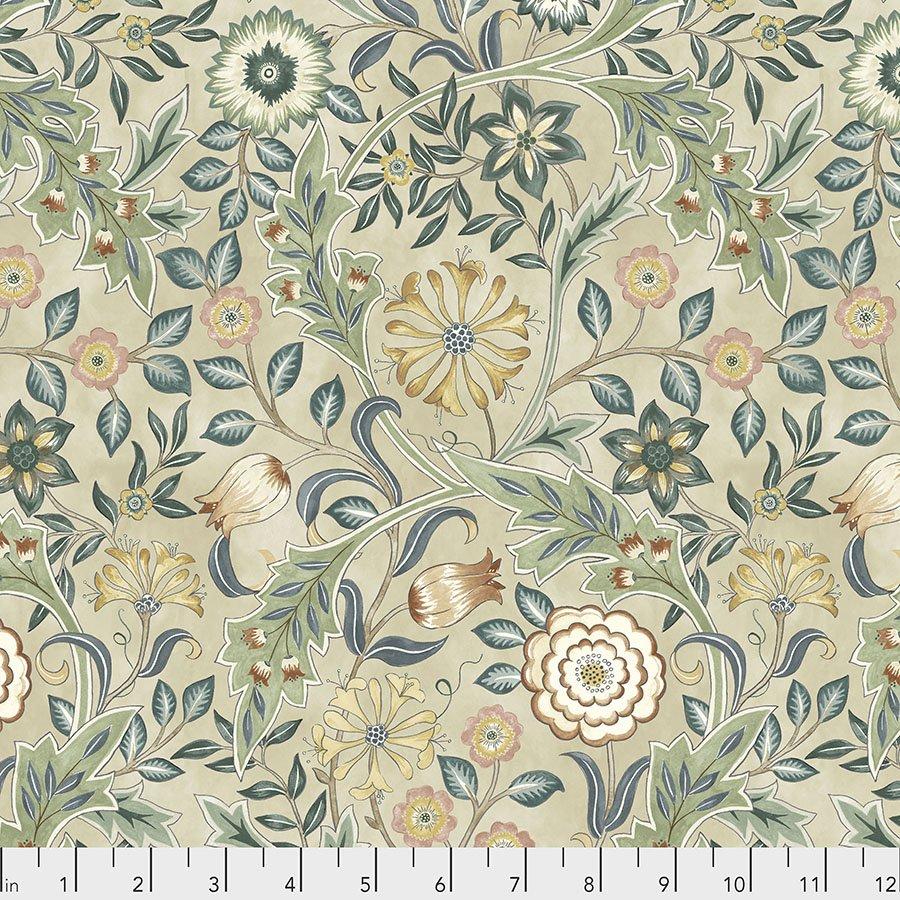 Orkney by William Morris & Co for Free spirit Fabrics - Wilhemina - Linen - PWWM049-LINEN