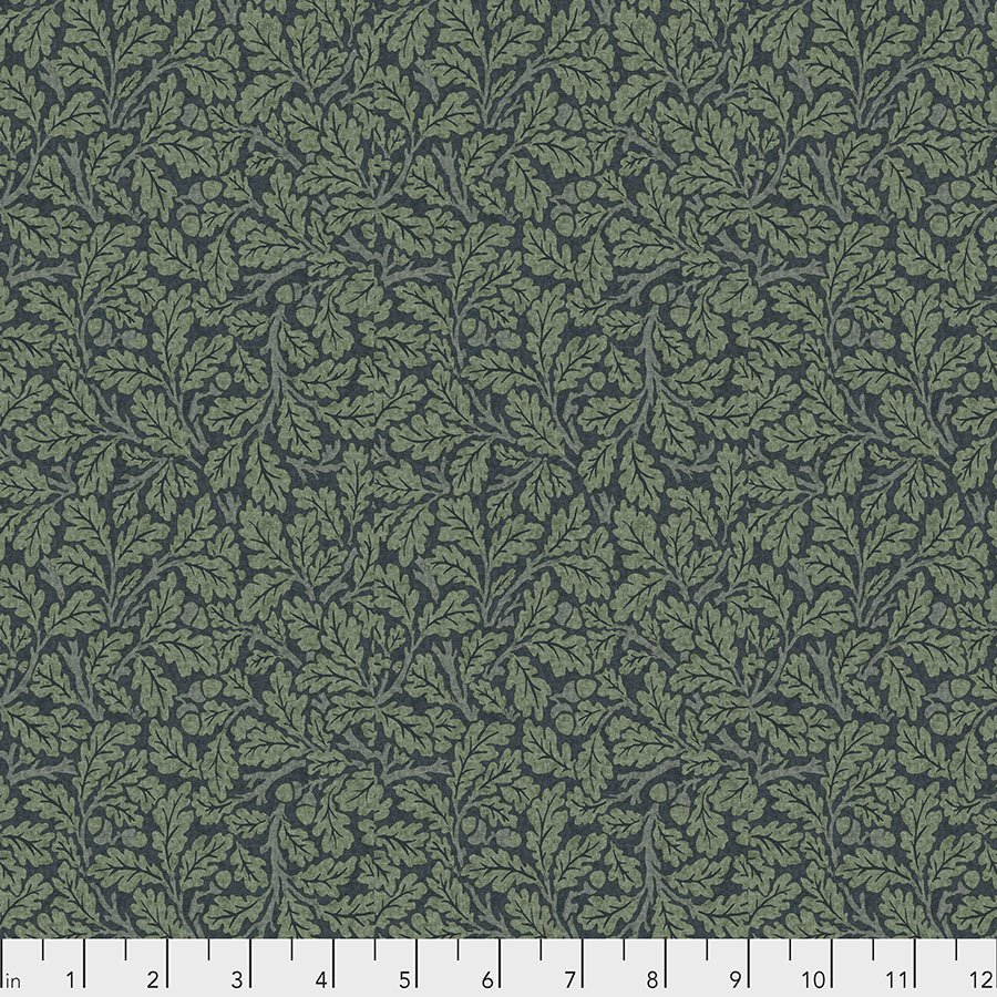 Orkney by William Morris & Co for Free spirit Fabrics - Oak Indigo - PWWM050-INDIGO