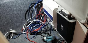 Boat wiring before