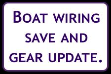 Boat Wiring upgrade