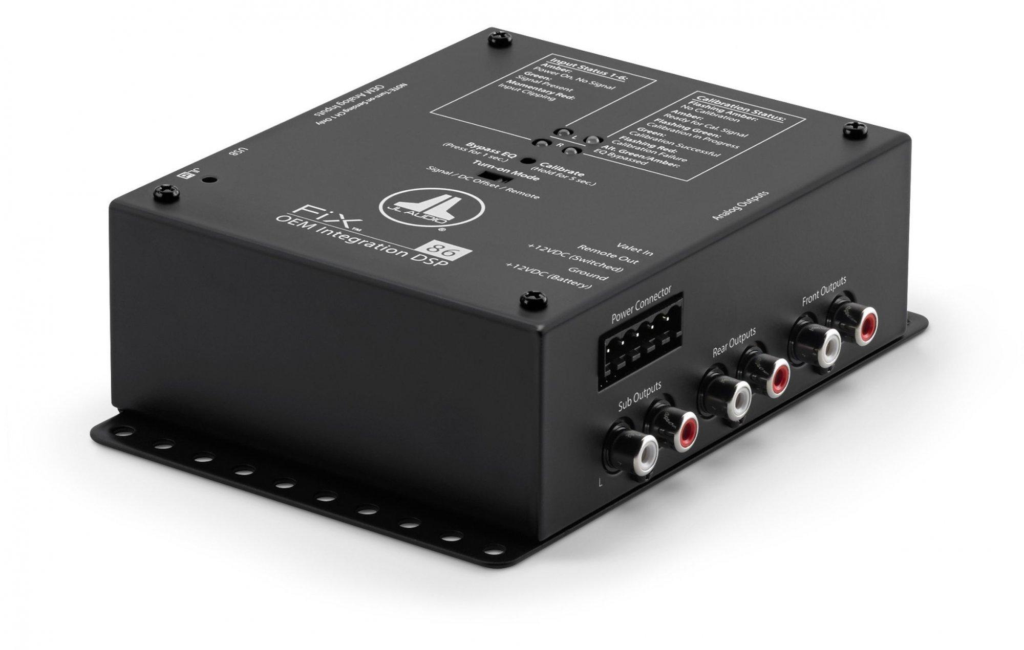 JL Audio FiX-86 OEM Integration DSP