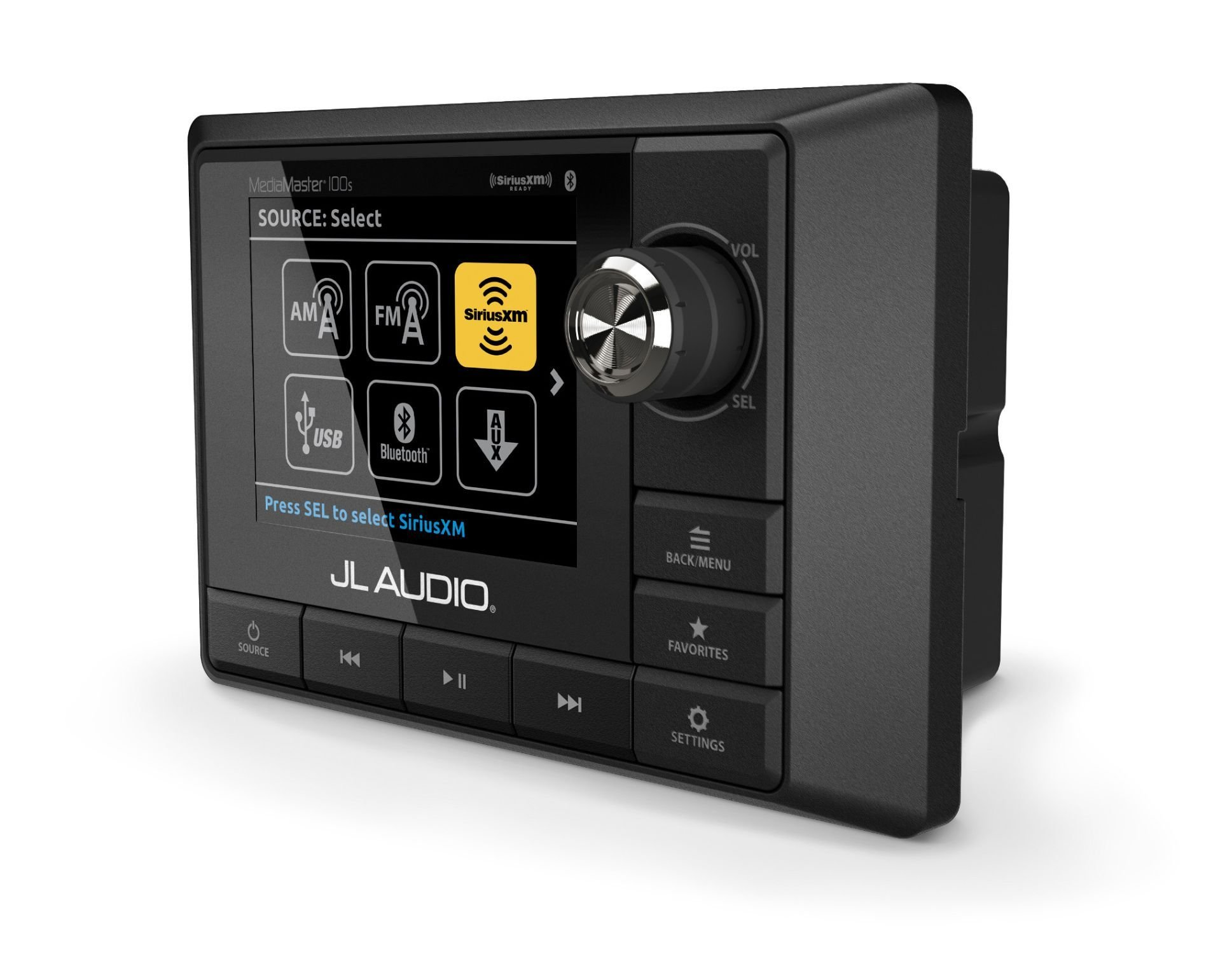 JL MM100s with Full-Color LCD Display- Weatherproof Source Unit