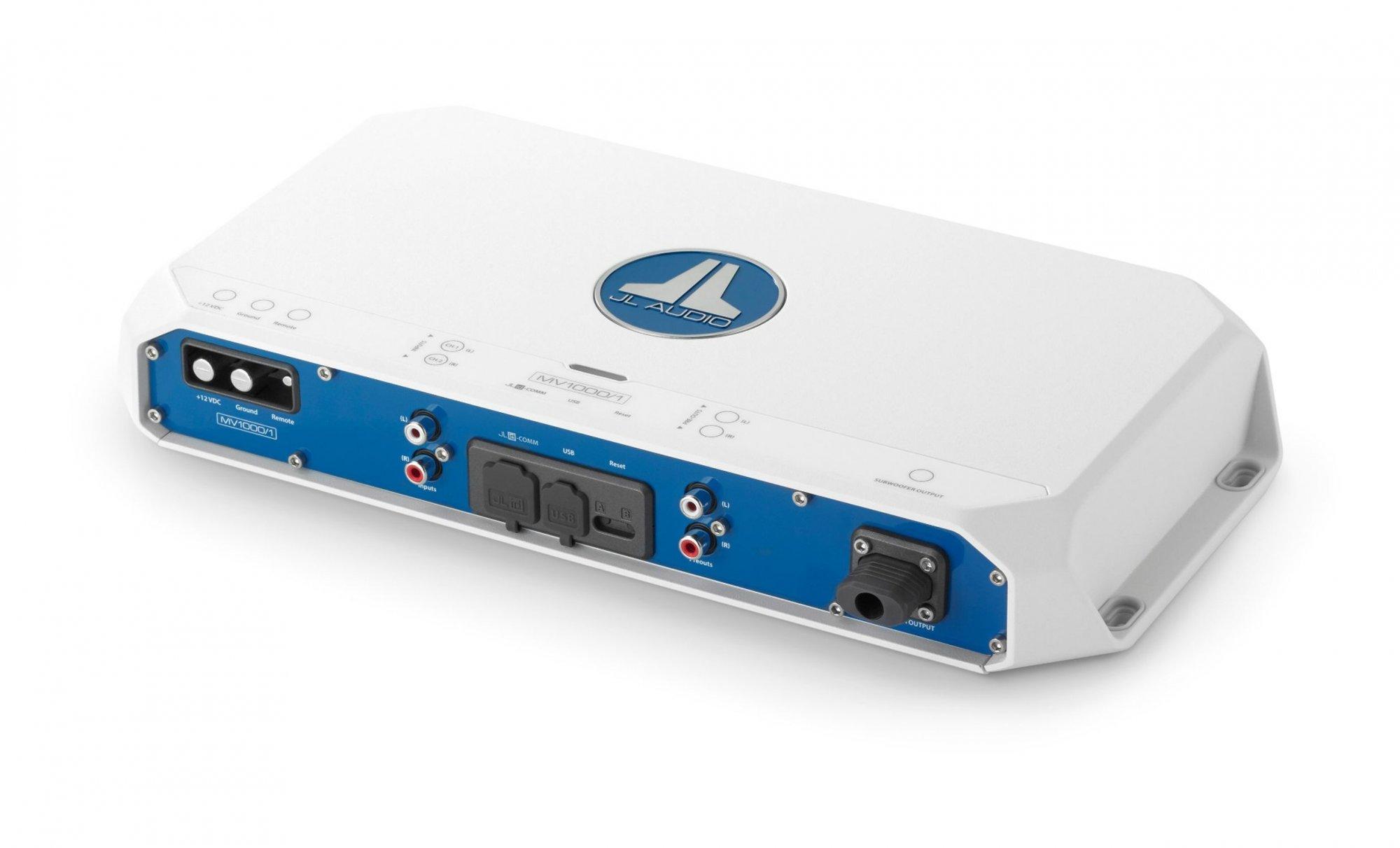 JL Audio MV1000/1, Monoblock Marine Amp