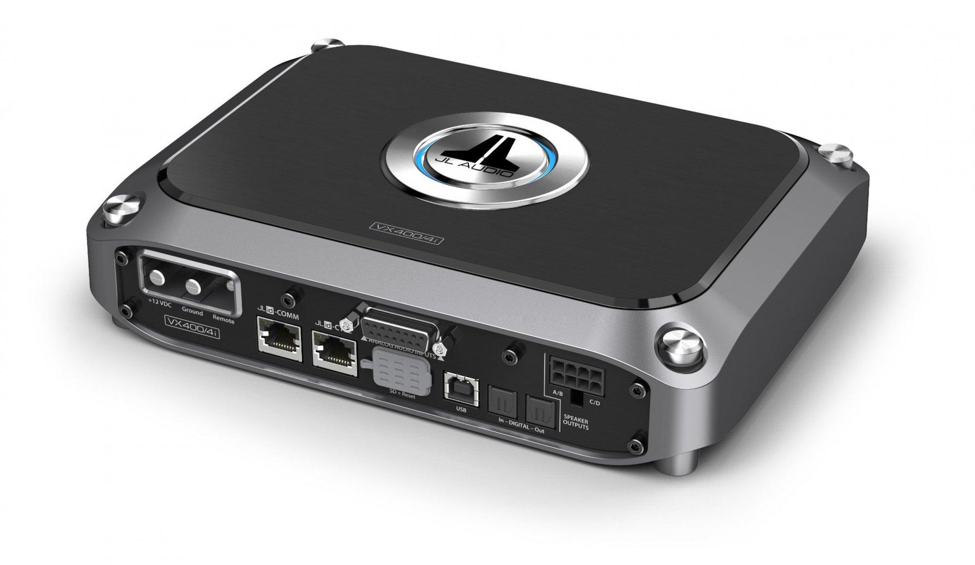 JL Audio VX400/4i, 4 Channel Amp w/ DSP