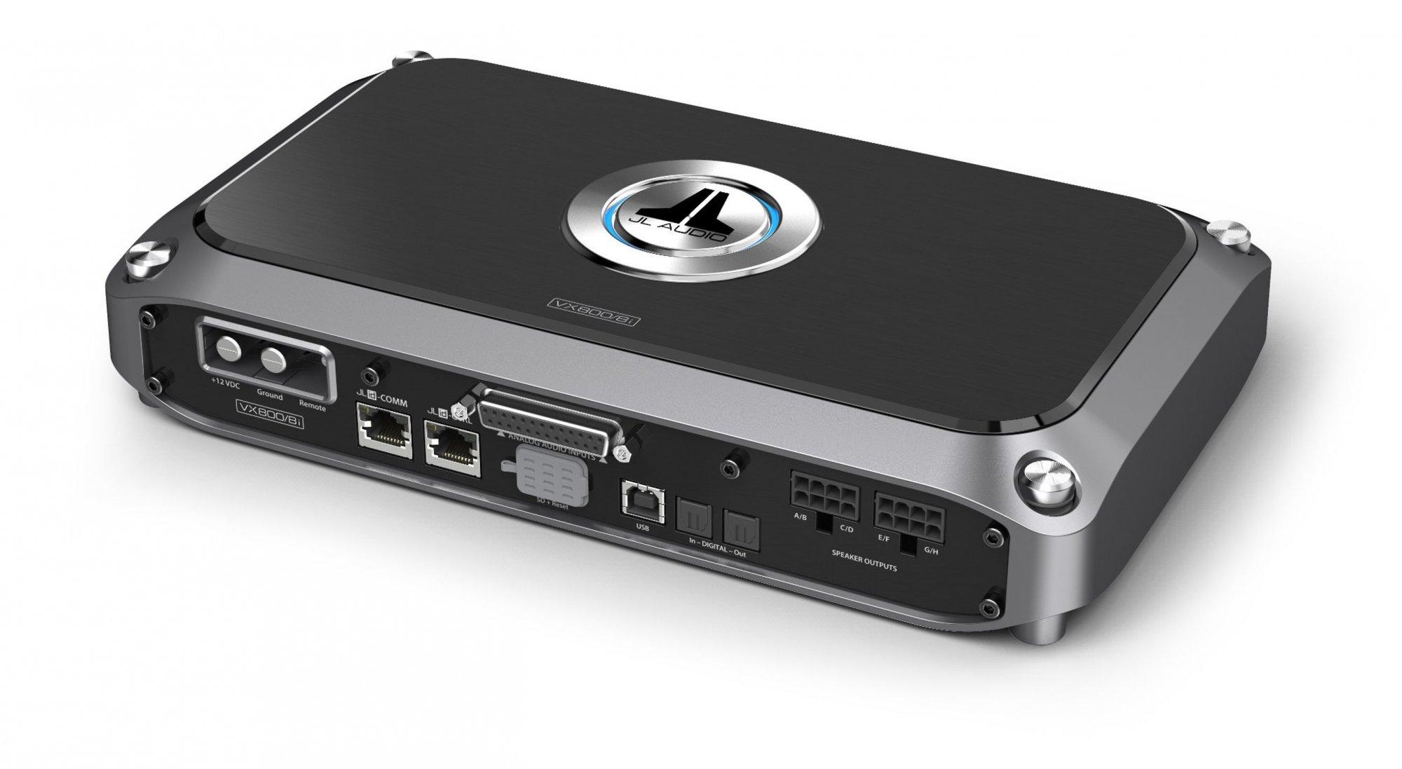 JL Audio VX800/8i, 8 Channel Amp w/ DSP