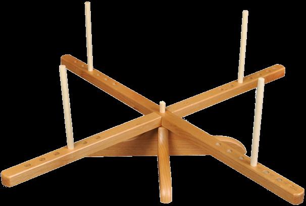 Wooden Yarn Swift