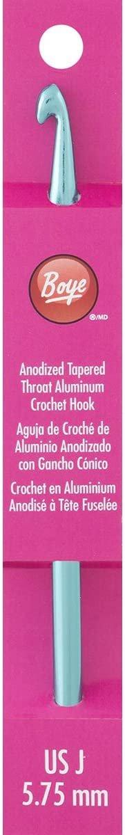 Boye Aluminum Crochet Hook 6