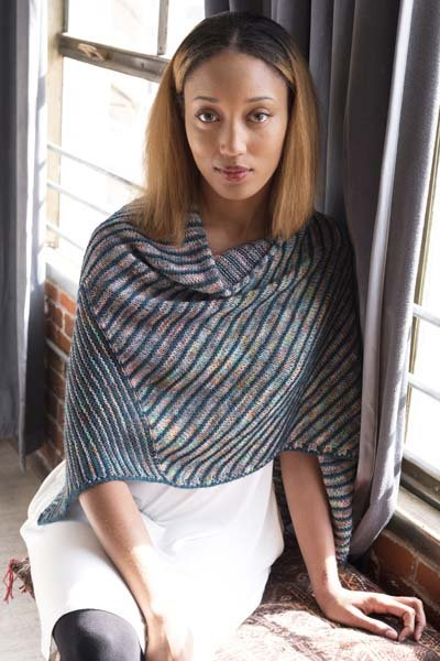 To the Point Mitered Triangle Shawl Kit