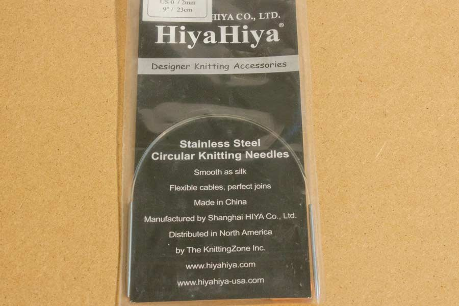 Stainless Steel Fixed Circular Needles - 9