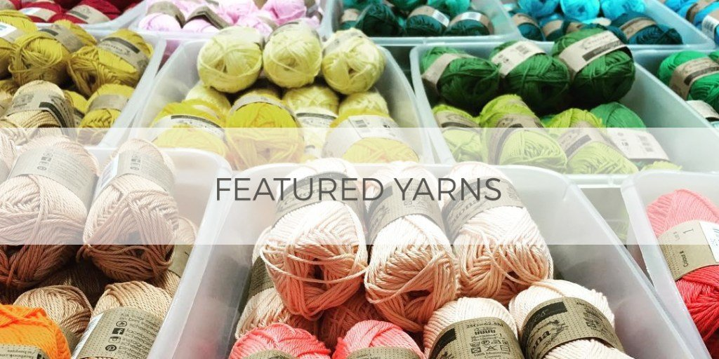 Yarns Available at Hooked