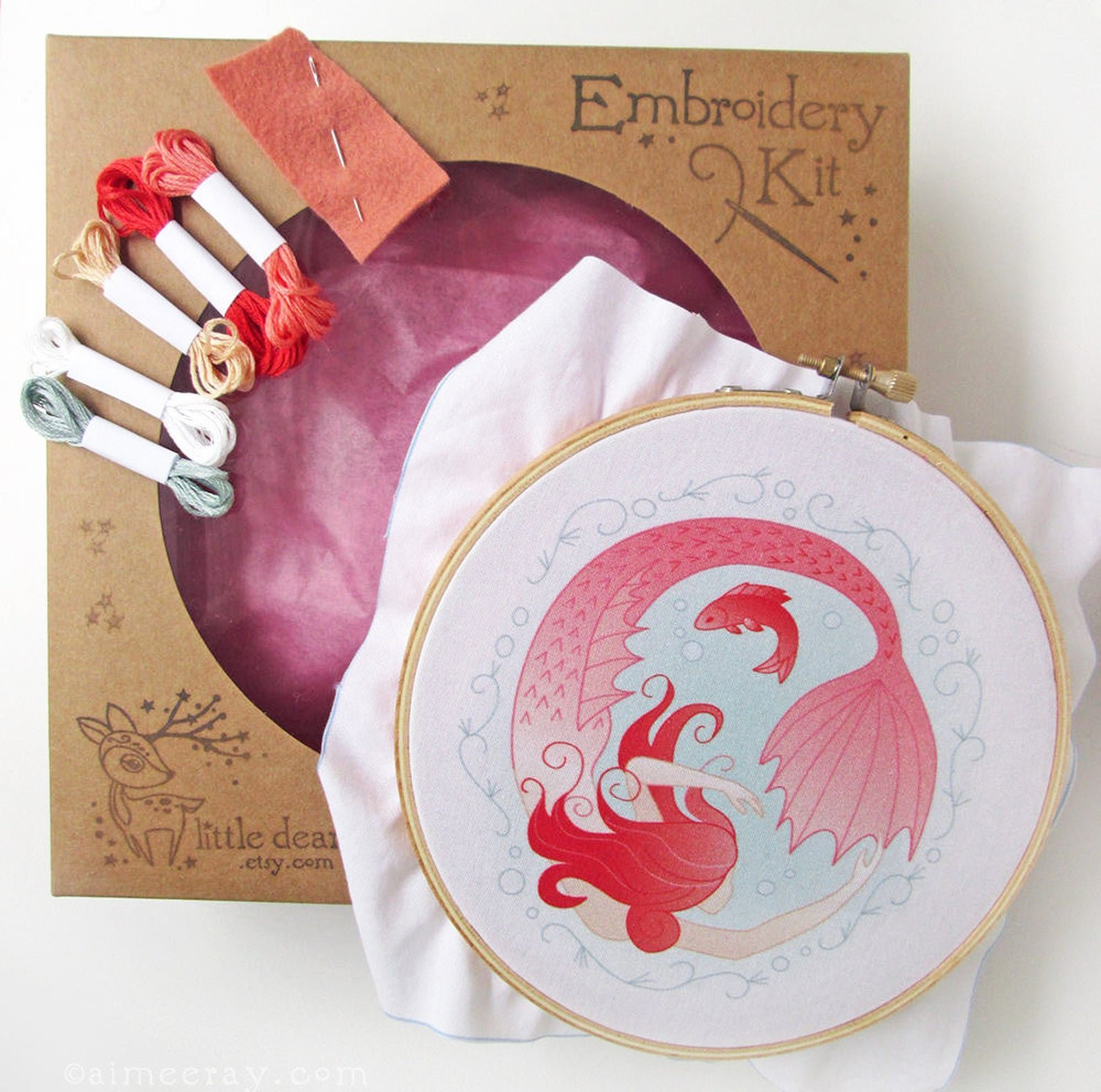 Beginner Hand Embroidery Sampler Kits