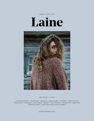 Laine Magazine Winter/Spring 2019 (issue 7)