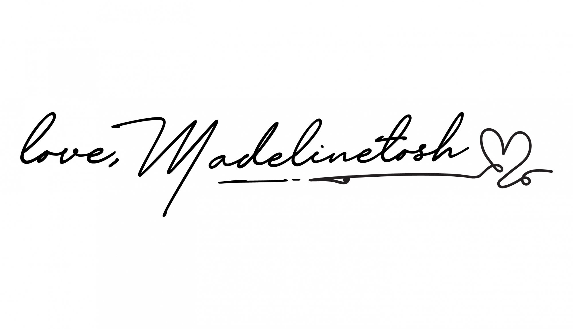 love, Madelinetosh
