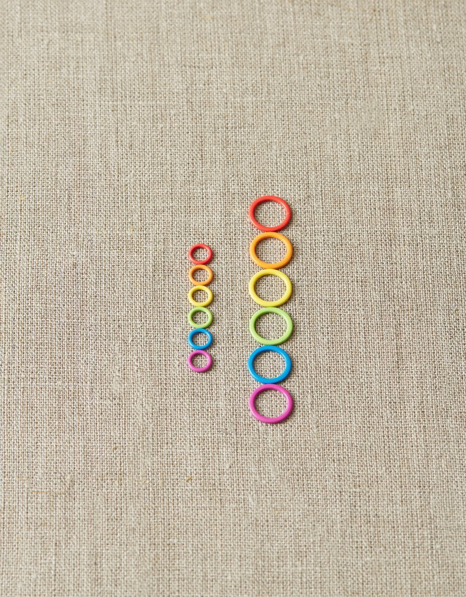 Cocoknits Colorful Metal Stitch Markers