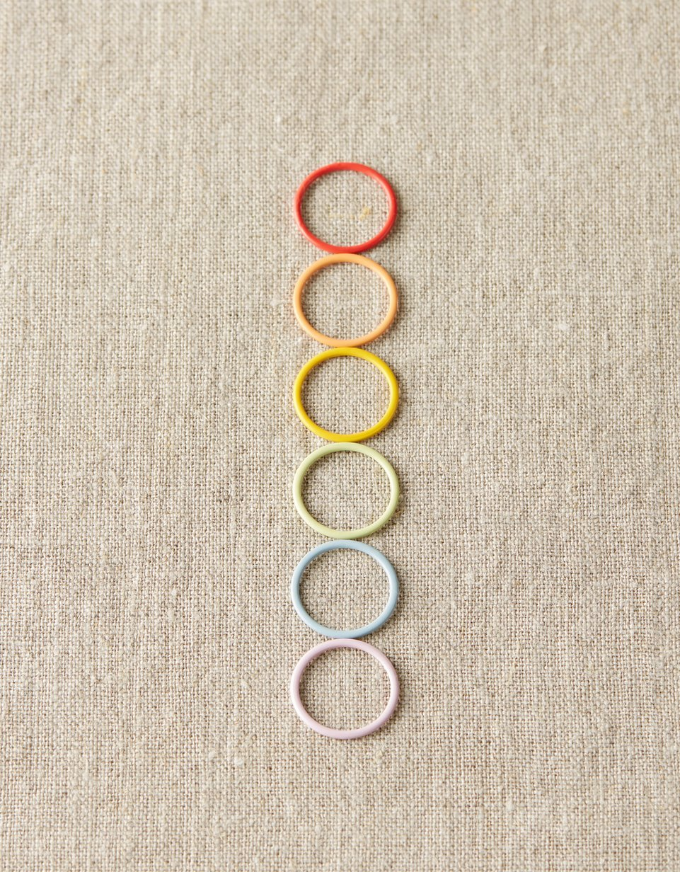 Cocoknits Colorful Metal Jumbo Stitch Markers