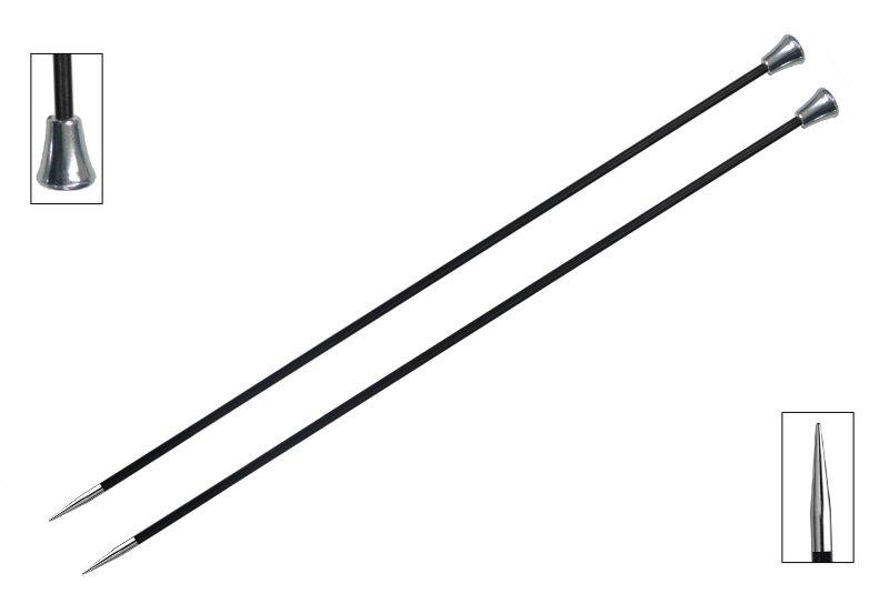 Karbonz Single Pointed Needles - 10