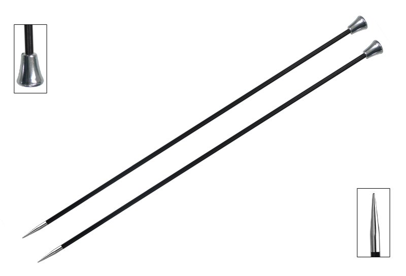 Karbonz Single Pointed Needles - 14