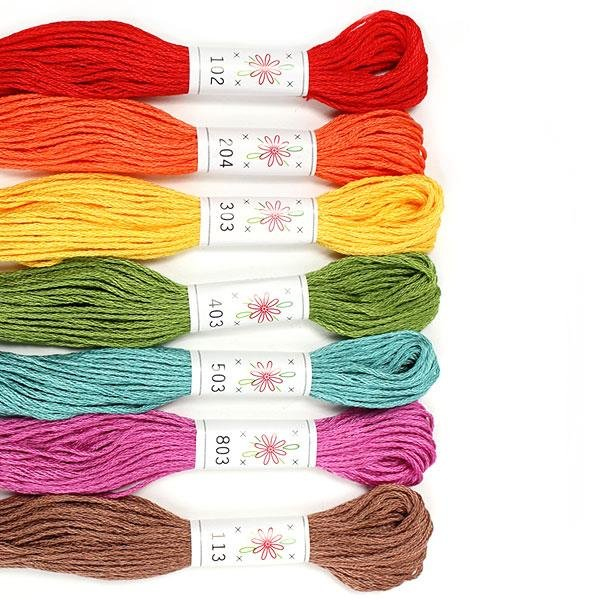 Sublime Embroidery Floss Palette